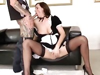 A mature maid and her master